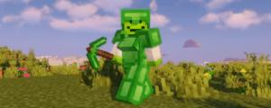 Emerald armor and tools Mod para Minecraft 1.16