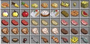 food minecraft