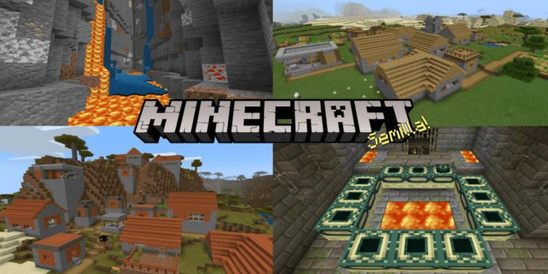 seeds village minecraft